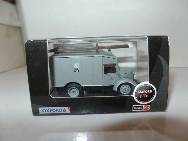 Oxford 76ATV001 ATV001 1/76 OO Austin ATV Auxillary Towing Vehicle Fire NFS Grey